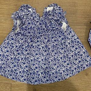 Janie & Jack baby girl dress set